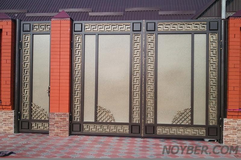 дизайн железные двери ворота